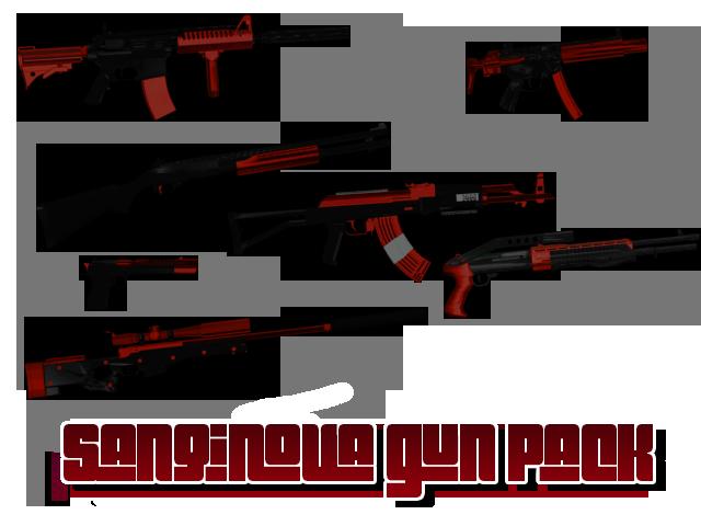 Sanqunova Gun Pack