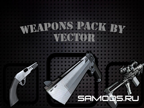 Weapon Pack by Vector #1