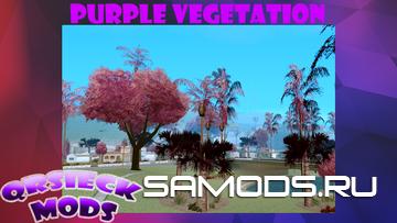 Purple Vegetation by Qrsieck MODS