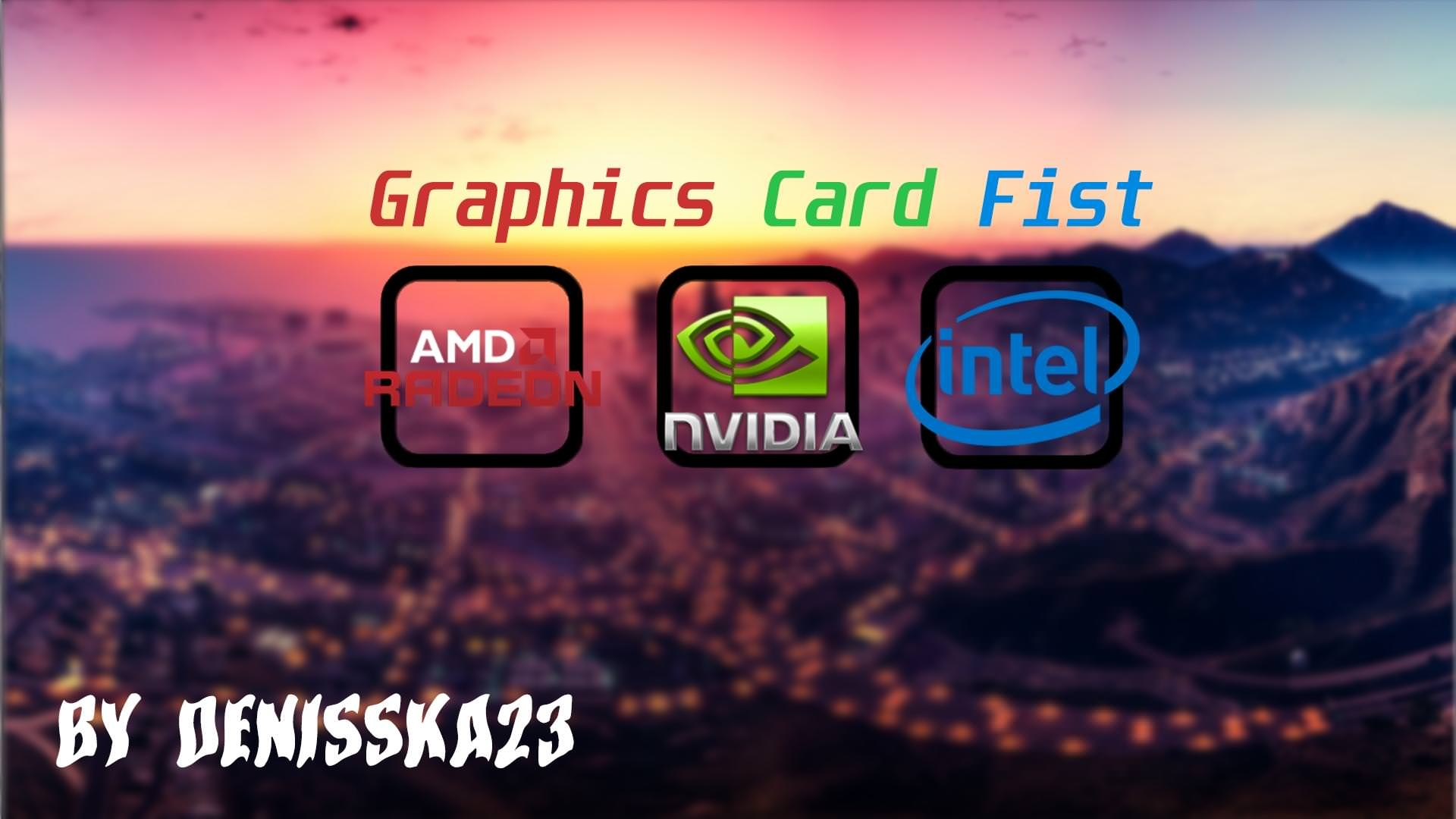 Graphics card fist [ by denisska23 ]