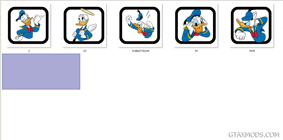 Fist pack Donald Duck