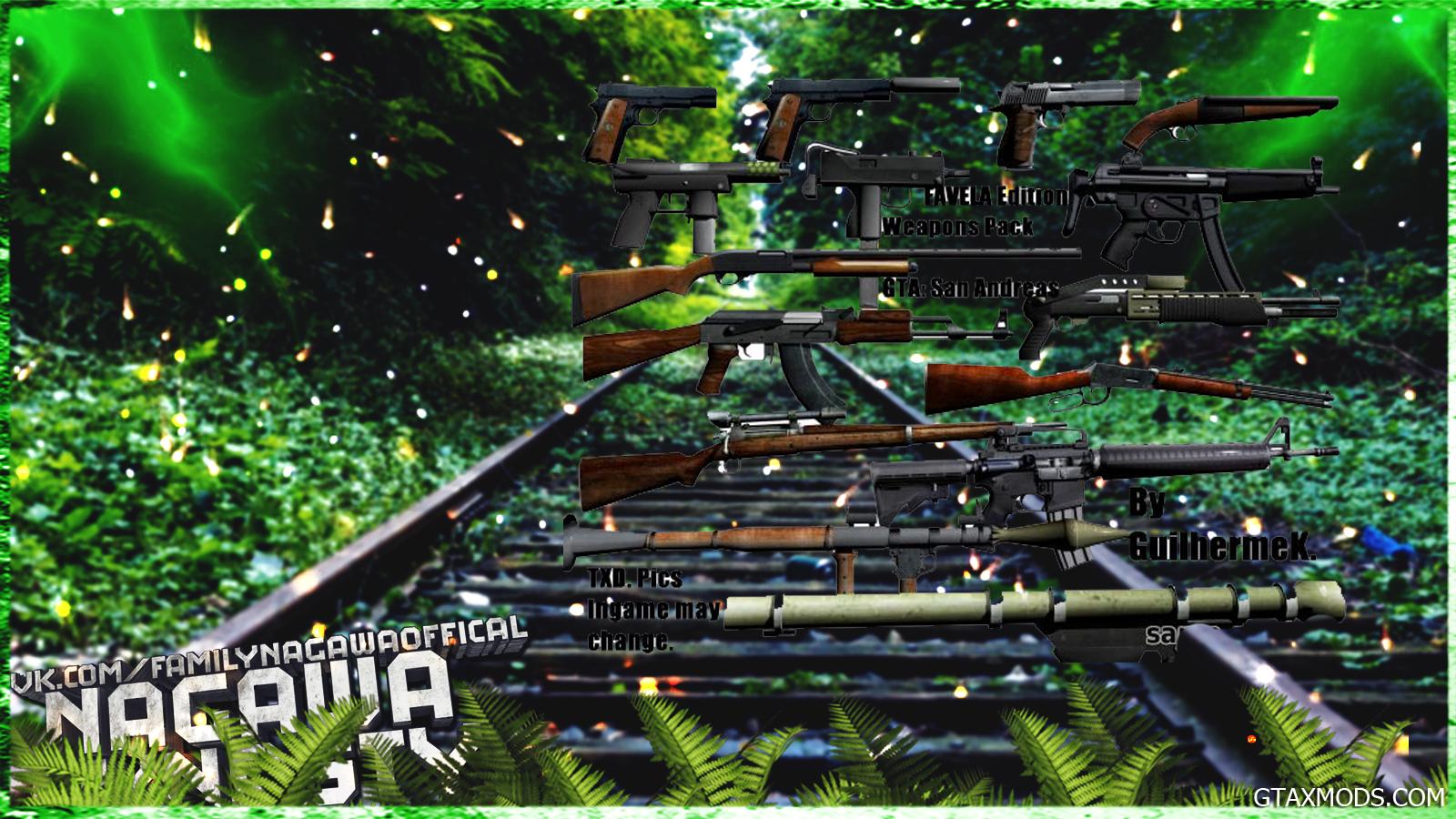 Gun Pack   Не кушает FPS   Nagawa Elite Dynasty - Игровые моды